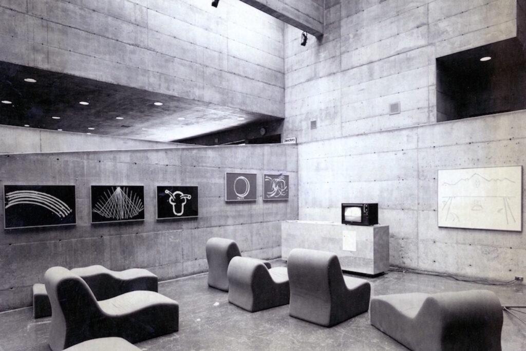 Link to page for Joan Jonas: Performances/Video/Installation, University Art Museum, Berkeley, 1980